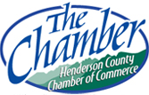 The Chamber Henderson County Chamber of Commerce logo