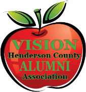 "Caption: ""VISION Henderson County Alumni Association"" logo"