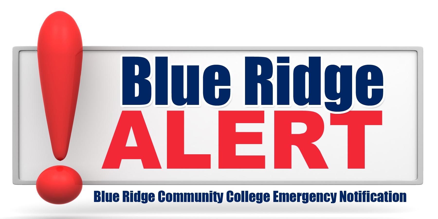 Blue Ridge Alert logo