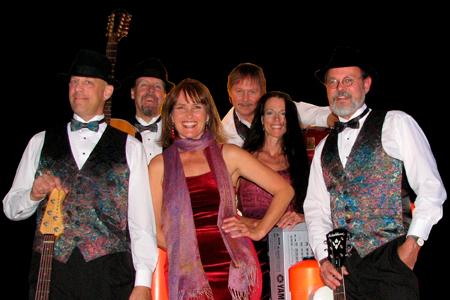 group portrait performers Tuxedo Junction