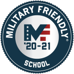 Military Friendly School MF '20-21 logo