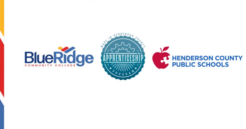 Blue Ridge, MIHC and HCPS logos