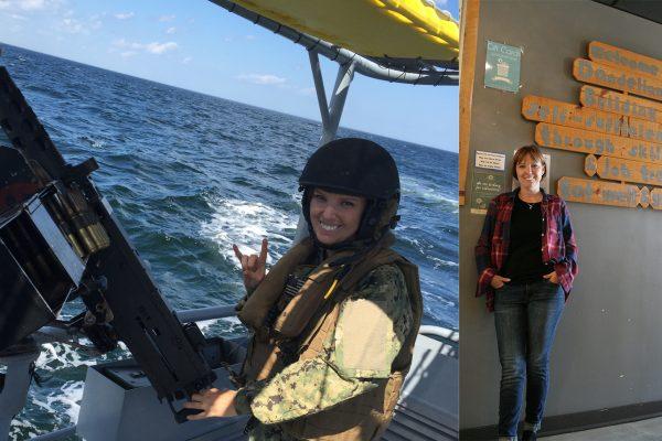 Two photos of Carrissa Lynn