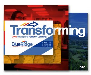 Blue Ridge Community College 2019-2020 Annual Report cover thumbnail