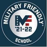 Military Friendly School MF '21-22 logo