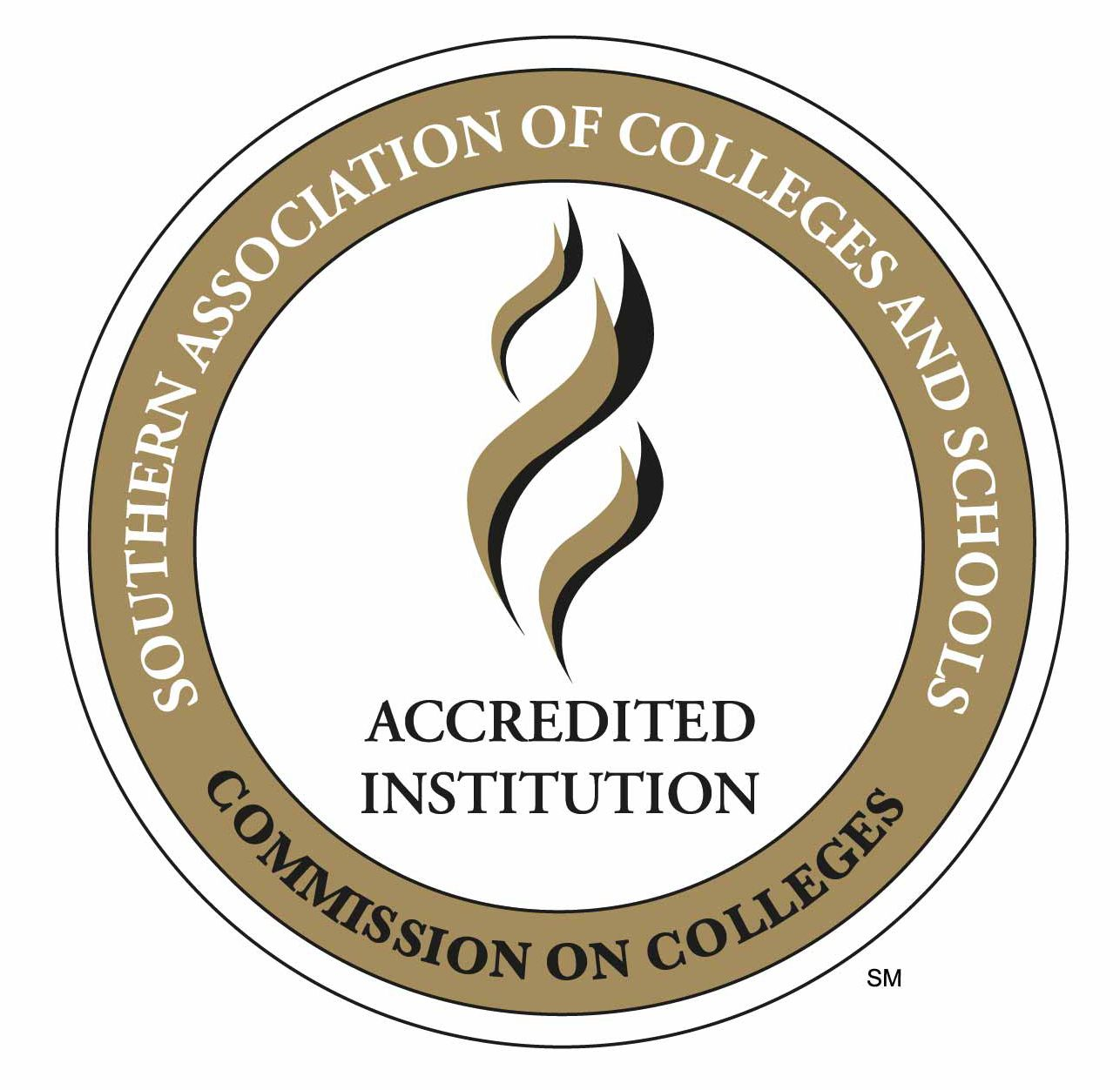 Southern Association of Colleges and Schools Commission on Colleges Accredited Institution seal logo