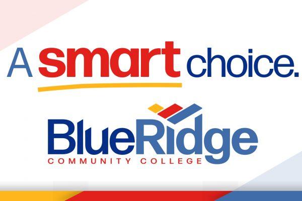 A smart choice. Blue Ridge Community College logo