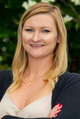 portrait of Erin Hendrix, Coordinator of Student Life & Wellness