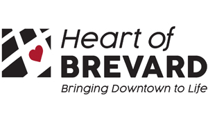 Heart of Brevard Bringing Downtown to Life logo