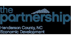 the partnership Henderson County, NC Economic Development logo